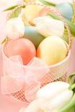 复活节排列 免版税库存照片