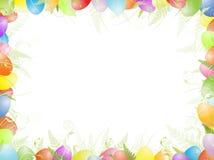 复活节框架 库存例证