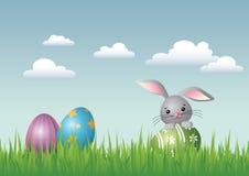 复活节横向 免版税库存照片