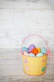 复活节篮子 库存图片