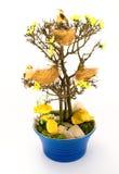 复活节结构树 免版税图库摄影