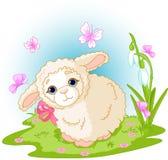 复活节羊羔 向量例证