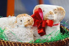 复活节羊羔 免版税库存照片