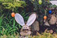 复活节装饰在波茨坦 免版税库存图片