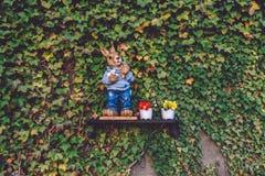 复活节装饰在波茨坦 库存照片