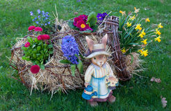 复活节装饰 图库摄影