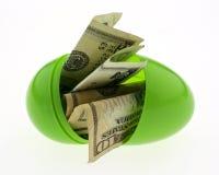 复活节货币 免版税库存图片