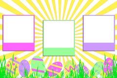 复活节阳光 向量例证