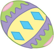 复活节egg4 库存例证