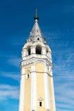 复活大教堂钟楼在Tutaev,俄罗斯 金黄圆环旅行 库存图片