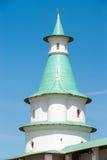 复活新耶路撒冷修道院的第一座城楼 免版税库存图片