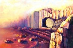 复活耶稣基督 免版税库存照片