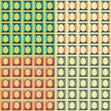 复活节五颜六色的样式 免版税图库摄影