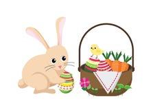 复活节兔子兔子 图库摄影