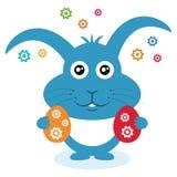 复活节兔子用鸡蛋。 库存照片
