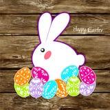 复活节兔子耳朵传染媒介 库存照片