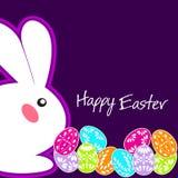 复活节兔子耳朵传染媒介 库存图片