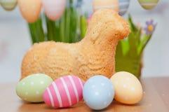 复活节兔子蛋糕 免版税图库摄影