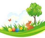 复活节兔子设计 图库摄影