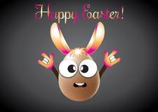 复活节兔宝宝鸡蛋 免版税图库摄影