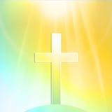 复活节十字架 库存照片