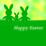 复活节卡片:复活节快乐 免版税库存照片