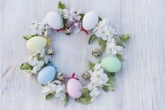 复活节和春天概念 免版税库存照片