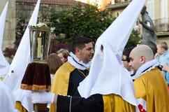 复活节在加利西亚(西班牙) 库存图片
