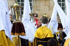 复活节在加利西亚(西班牙) 库存照片