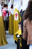 复活节在加利西亚(西班牙) 免版税库存照片