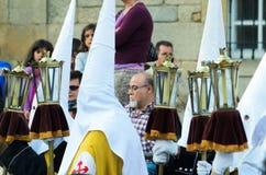 复活节在加利西亚 库存图片
