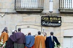 复活节在西班牙 图库摄影