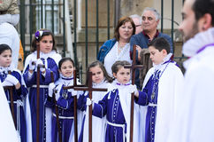 复活节在西班牙 免版税库存照片