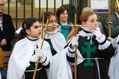 复活节在西班牙 库存照片