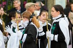 复活节在西班牙 库存图片