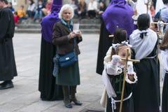 复活节在西班牙 免版税图库摄影