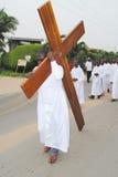 复活节在非洲 免版税库存图片