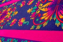 复活节地毯在安提瓜岛危地马拉 免版税图库摄影