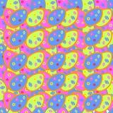 复活节多色彩的鸡蛋 库存照片
