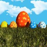 复活节天 免版税库存图片