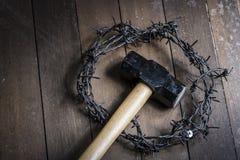 复活节宗教概念 库存照片