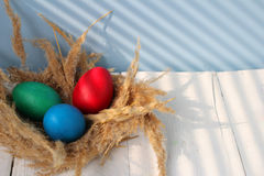 复活节宽容复活节和正统复活节 免版税库存图片