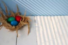 复活节宽容复活节和正统复活节 库存图片