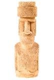 复活节岛雕象小雕象 免版税图库摄影