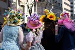 2017年复活节帽子游行纽约 图库摄影