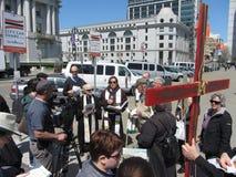 复活节庆祝在旧金山 免版税库存图片