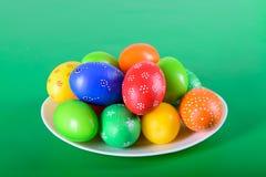 复活节彩蛋为基督徒假日 免版税图库摄影
