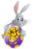 复活节彩蛋兔宝宝 库存照片