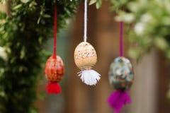 复活节彩蛋和复活节 免版税图库摄影