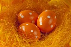 复活节彩蛋嵌套三 库存照片
